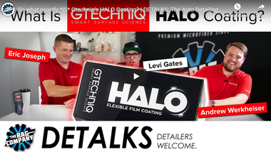 So what exactly *IS* Gtechniq's HALO Coating? | DETALKS: The Auto Detailing Talk Show