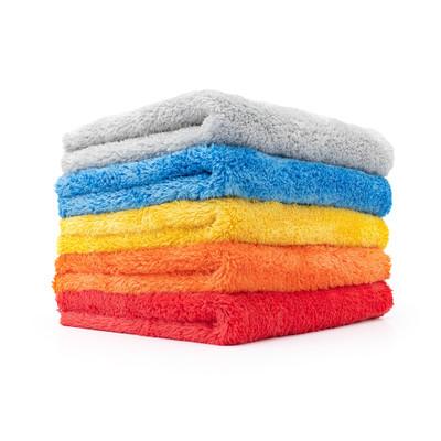 84 new black microfiber towels new cleaning cloths bulk 16x16 sale best deal