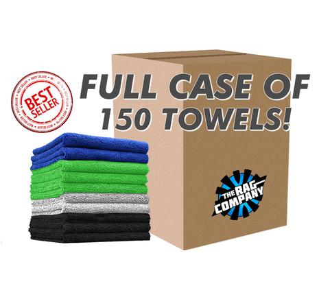 CASE CREATURE EDGELESS 16 X 16 MICROFIBER TOWELS (150 COUNT) (51616-CREATURE-CASE)