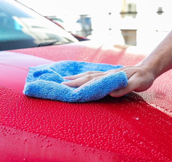 Blue 96 Case 16x16 Microfiber Edgeless Towels 500GSM Auto Detailing//Cleaning D