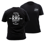 The Rag Company Whiskey Unisex Black T-Shirt (RAGCO-WHISKEY-TEE)