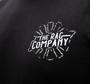 The Rag Company Whiskey Unisex Black T-Shirt - Front of Shirt