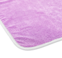TWIST N' SHOUT 25 x 36 Microfiber Twist Loop Drying Towel (12536-TWIST-PURPLE)