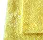 CASE - Edgeless 300 All-Purpose 16 x 16 Microfiber Terry Towel Wholesale (250 Count) - Yellow