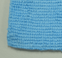 CASE Edgeless Light Blue 245 All-Purpose 16 x 16 Terry Towel (300 Count) (51616-E245-CASE)