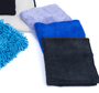 "1 - 16 ""x 16"" Eagle Edgeless 350 Detailing Towel [Detailing / Buffing], 1 - 16"" x 16"" Premium EDGELESS 365 Towel [Detailing / Interior], 1 - 16"" x 27"" CAR WASH Towel [Drying / Detailing]"