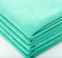 CASE Green 16 x 16 Coating Microfiber Towel 350 GSM (200 Count) (51616-PEARL-GRN-CASE)