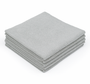 CASE Ice Grey Edgeless 16 x 16 Coating Microfiber Towel 350 GSM (200 Count) (51616-PEARL-EL-GREY-CASE)