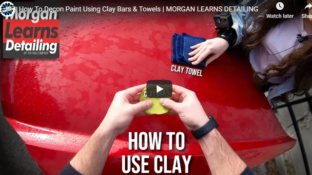 How To Decon Paint Using Clay Bars & Towels | MORGAN LEARNS DETAILING