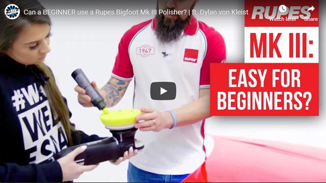 Can a BEGINNER use a Rupes Bigfoot Mk III Polisher?   ft. Dylan von Kleist