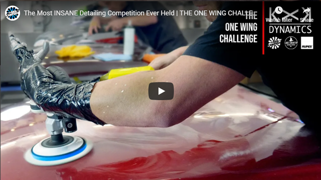 The Most INSANE Detailing Competition Ever Held | THE ONE WING CHALLENGE