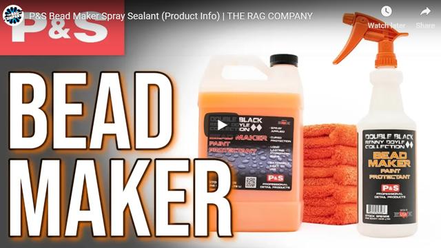 P&S Bead Maker Spray Sealant (Product Info) | THE RAG COMPANY