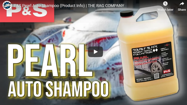 P&S Pearl Auto Shampoo (Product Info) | THE RAG COMPANY