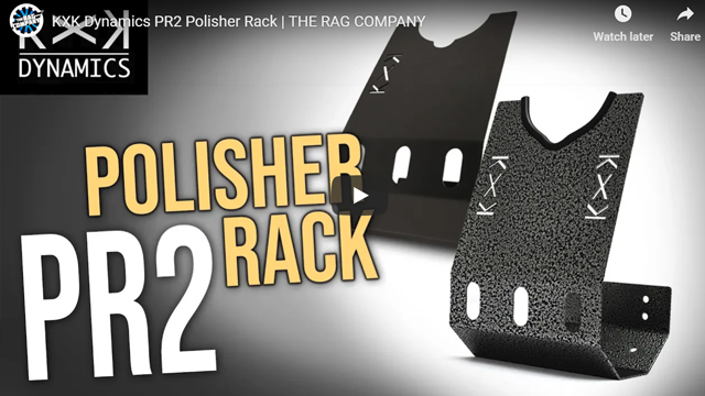 KXK Dynamics PR2 Polisher Rack | THE RAG COMPANY