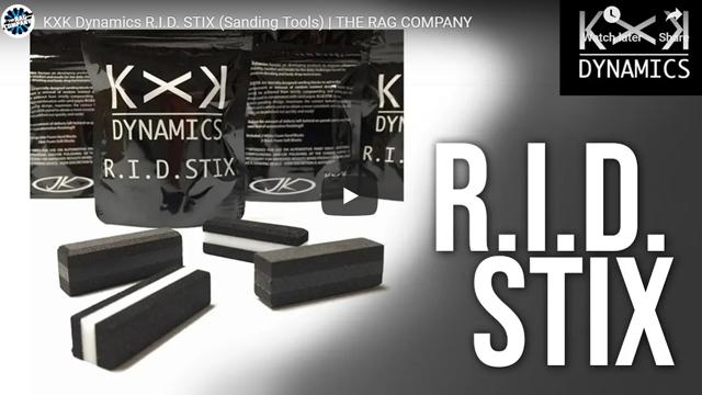 KXK Dynamics R.I.D. STIX (Sanding Tools) | THE RAG COMPANY