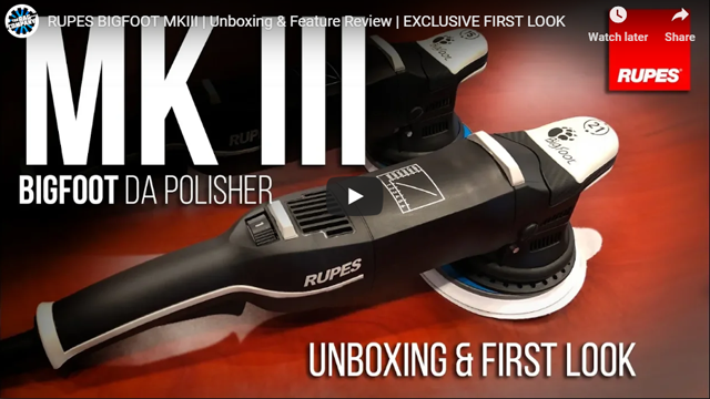 RUPES BIGFOOT MKIII | Unboxing & Feature Review | EXCLUSIVE FIRST LOOK