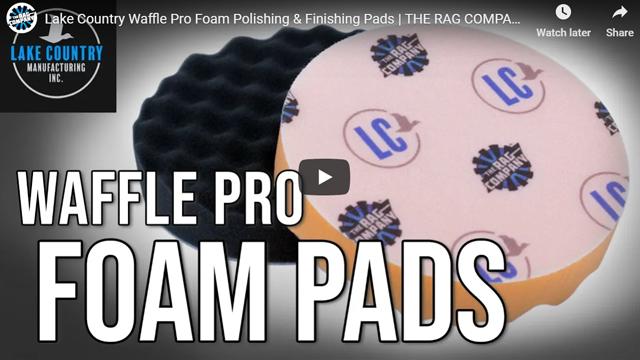 Lake Country Waffle Pro Foam Polishing & Finishing Pads   THE RAG COMPANY