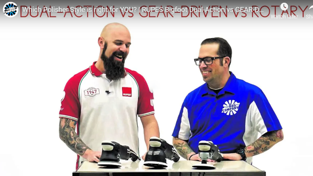 Which Polisher Style is right for YOU? | RUPES Bigfoot Dual-Action vs GEAR-DRIVEN Mille vs ROTARY
