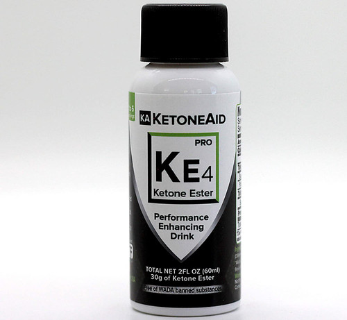 WORLD'S STRONGEST EXOGENOUS KETONE DRINK. With 30 grams of D-Beta Hydxoxybutyrate (D-BHB) per serving, that makes Ketone Aid's KE4 Ketone Ester the most concentrated product on the market. However most find benefit with only 10ml, which is 1/6th of a bottle/serving. One can test the effectiveness of a BHB drink using a blood ketone meter. With 10ml, most experience a 1.0mm jump blood ketone levels