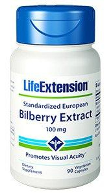Bilberry Extract | 100mg 90 capsules