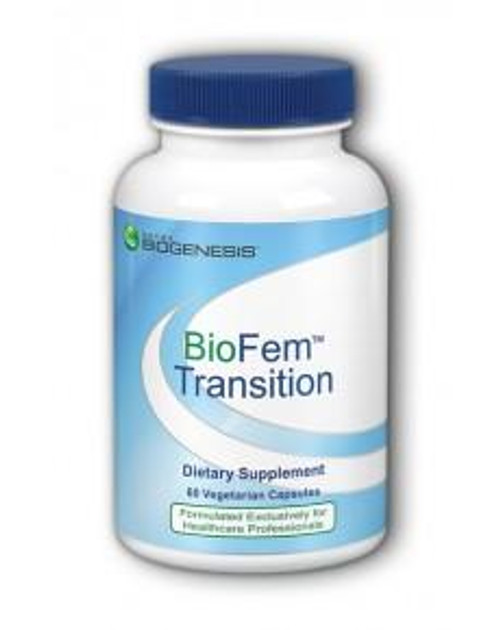 BioFem™ Transition is a special blend of herbs, DHEA, and pregnenolone intended to provide nutritional support during a woman's transition.