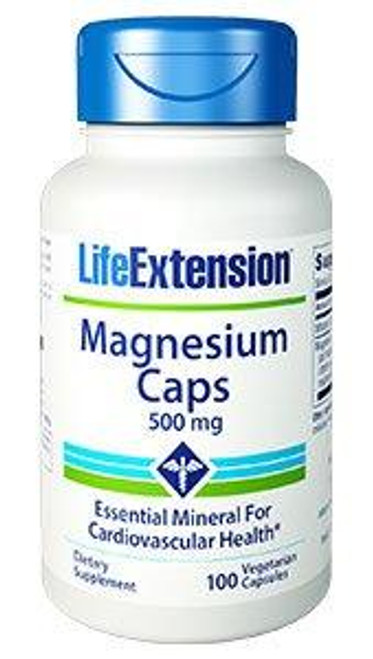Magnesium capsules contain four different types of magnesium to meet and exceed your daily magnesium requirement with just one capsule. Since most people are magnesium deficient, a daily supplement ensures the body receives what it requires of this essential mineral.