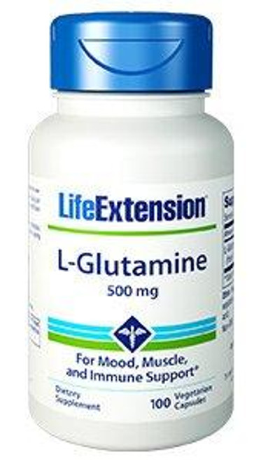 Glutamine is the most abundant free amino acid circulating in the blood as well as stored in the skeletal muscles. Glutamine is a diverse amino acid that is utilized in numerous vital functions. It is necessary for rapidly dividing cells, including those of the gut and immune system.  It is also used as an energy source in mitochondria,and is a precursor of the brain neurotransmitter glutamate.  Glutamine is also needed for optimal nucleotide biosynthesis and protein synthesis.