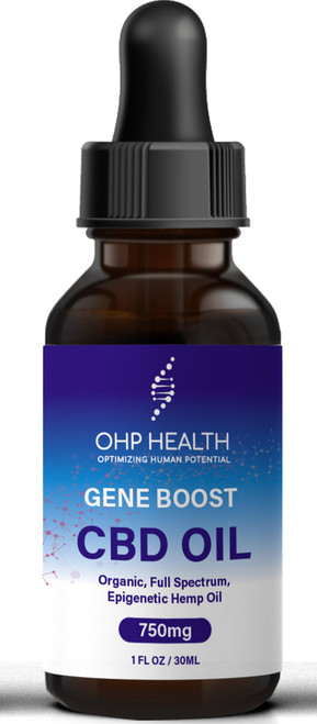 "OHP's unique CBD is designed as a full spectrum cannabidiol that has been shown to positively affect more than 1,200 genes to promote health and longevity. Six hundred and eighty ""gene transcripts"" are  upregulated (""turned on"") by cannabidiol and 524 are downregulated (""turned off"") to exert marked anti-oxidant and anti-inflammatory effects."