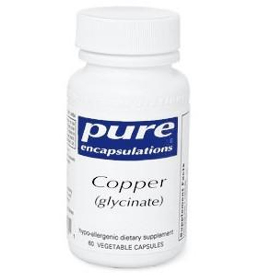 Copper (glycinate) | 2mg 60 ct