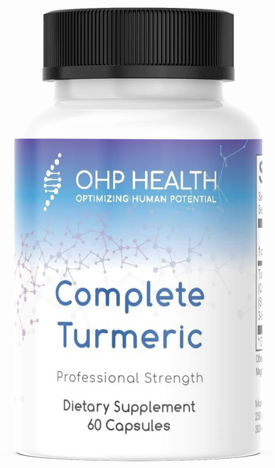 Complete Turmeric is a full-spectrum turmeric product that contains an exclusive blend of bioactive nutrients. It is a natural turmeric matrix standardized to contain curcuminoids, turmeric oils and turmerin protein, along with many other active turmeric compounds that deliver comprehensive support.