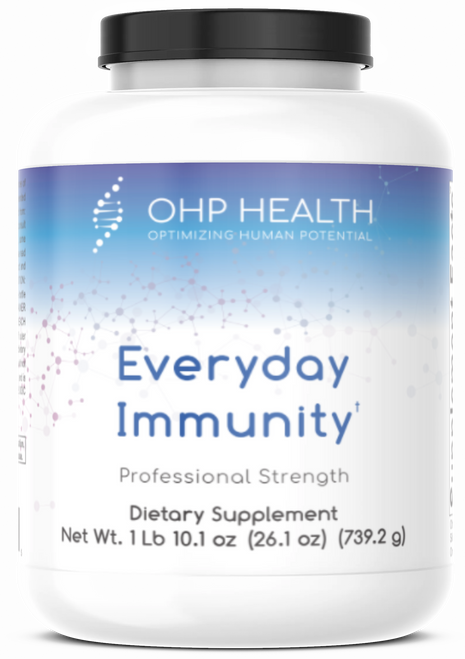 Everyday Immunity is an advanced nutritional formula built to address immune challenges, maintain normal inflammatory balance and strengthen gastrointestinal barrier function.