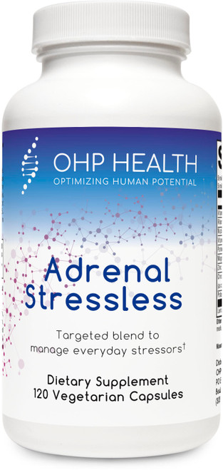 Adrenal Stressless pairs glandulars with targeted nutrients to support the body's response to everyday stressors. Among the comprehensive blend of nutrients are high-potency pantothenic acid and vitamin C, activated B vitamins, and mineral amino acid chelates. Gland and organ tissues are derived from an Argentinian bovine source that ensures safety and purity.* Available in 60 and 120 capsules.