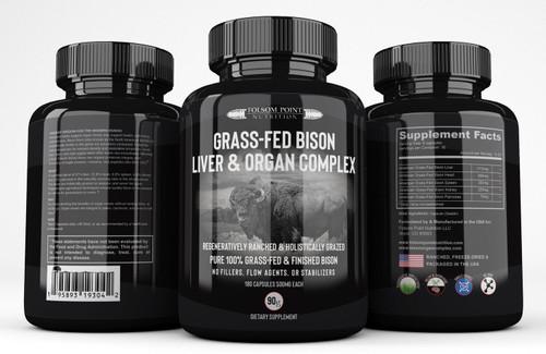 Grass-Fed Bison Liver & Organ Complex