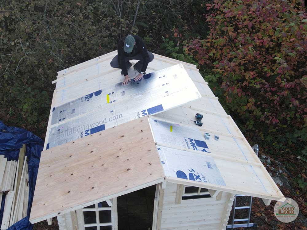shed roof insulation