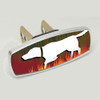 Golden Retriever on Point Hunting Hitch Cover