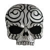 Tribal Skull Hitch Cover
