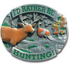 Rather Be Hunting Hitch Cover