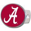 Alabama Crimson Tide Hitch Cover Class II and III Oval Metal