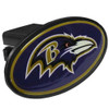 Baltimore Ravens Hitch Cover Plastic Class III