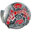 FireFighter Dept Trailer Hitch Cover