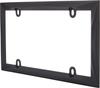 Contour License Plate Frame Die Cast Metal Gray