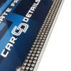 Car Details Clear Crystal Bling License Plate Frame Chrome