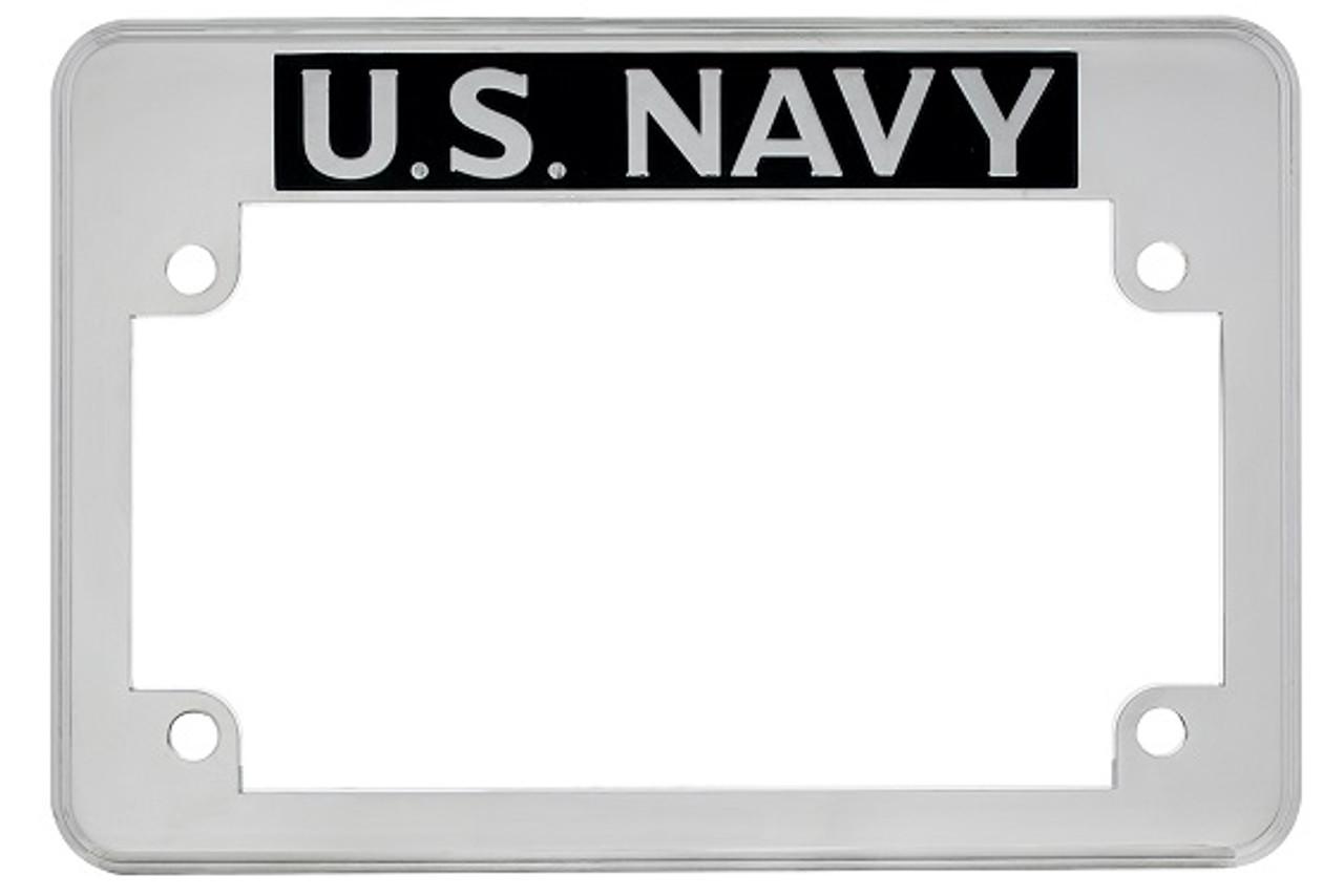 US NAVY UNITED STATES Metal License Plate Frame
