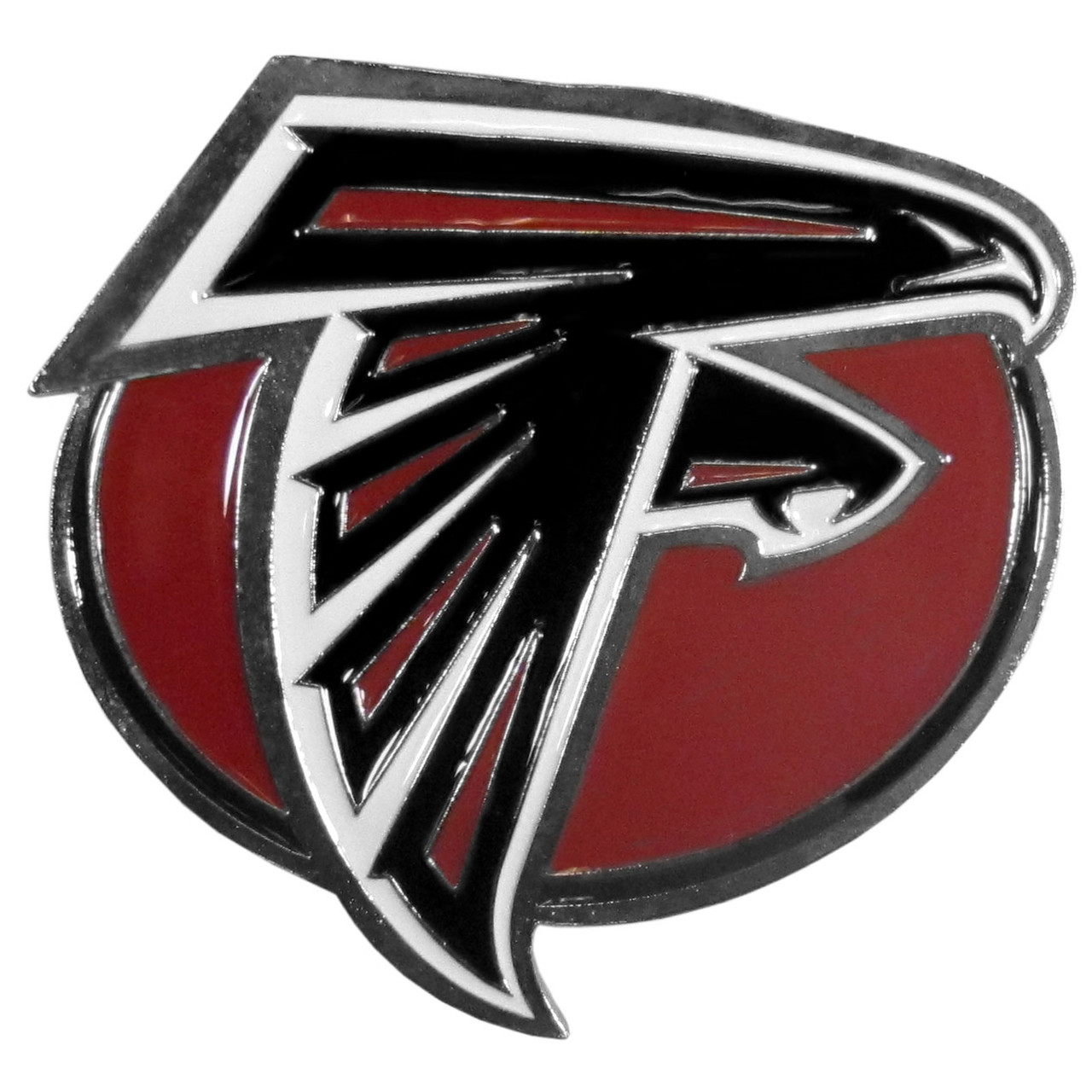 Class III FTHP070 Siskiyou NFL Atlanta Falcons Plastic Logo Hitch Cover