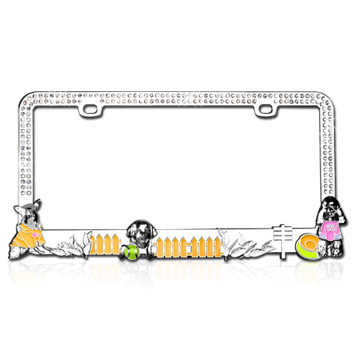 License Plates And Frames Animal Lovers Dog Lovers License Plate