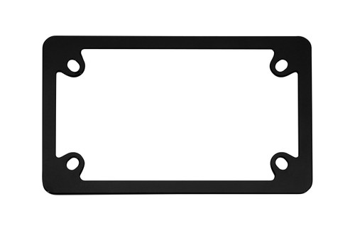Motorcycle Neo Black License Plate Frame