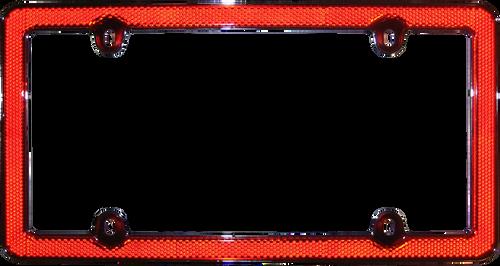 Reflector Frame II License Plate Frame