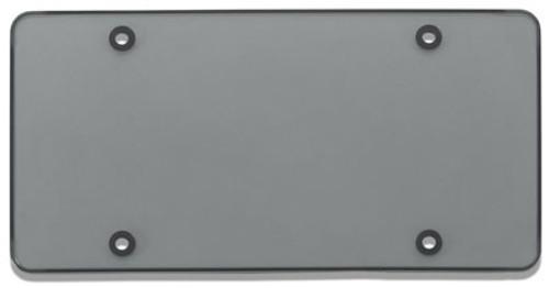 Tuf-Shield License Plate Cover Polycarbonate Flat Shield Smoke