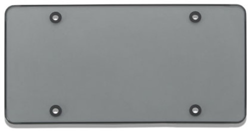 Tuf-Shield License Plate Cover Polycarbonate Flat Shield Smoke