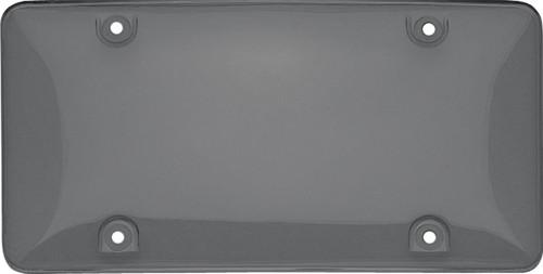 Tuf-Shield License Plate Cover Polycarbonate Bubble Shield Smoke
